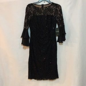 Ralph Lauren black sequined dress